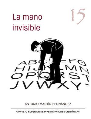 Portada de La mano invisible de Antonio Martín Fernández