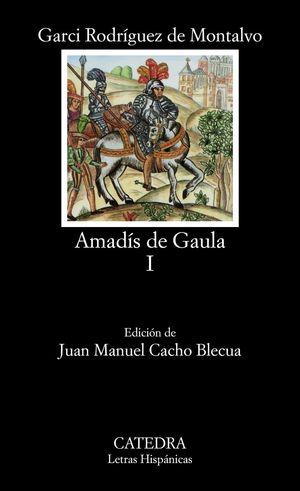 Cubierta del libro Amadís de Gaula, volumen I
