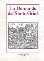Cubierta del libro La Demanda del Santo Grial (Toledo, 1515).