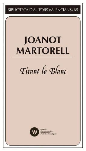 Cubierta del libro Tirant lo Blanc de Joanot Martorell