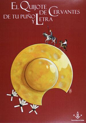 Portada del libro El Quijote de tu puño y letra, publicado por la Universitat de Lleida.