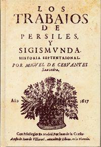 Portada del libro Los trabajos de Persiles y Segismunda, de Miguel de Cervantes, publicado por la Universidad de Valladolid.