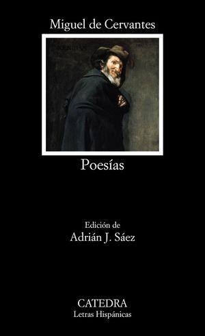 Portada del libro Poesías de Miguel de Cervantes