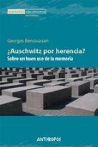 Portada del libro Auschwitz por herencia.