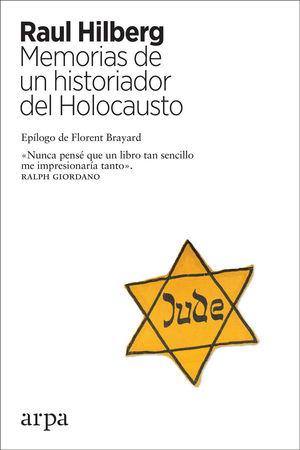 Portada del libro Memorias de un historiador del Holocausto.