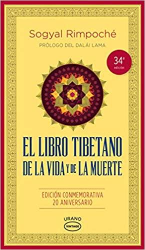 Portada de El libro tibetano de la vida y de la muerte.