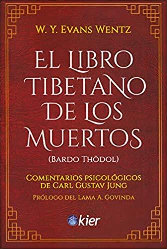 Portada de El libro tibetano de los muertos con comentarios de Carl Gustav Jung