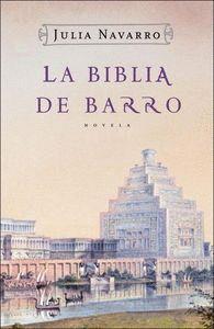 Cubierta del libro La Biblia de barro