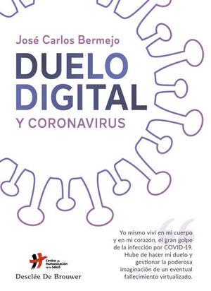 Cubierta del libro Duelo digital y coronavirus