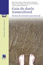Cubierta del libro Guía de duelo transcultural. Pautas de atención psicosocial, publicada por la Universitat Jaume I