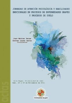 Cubierta del libro Jornadas de intervención psicológica y habilidades emocionales en procesos de duelo.
