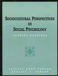 SOCIOCULTURAL PERSPECTIVES SOCIAL PSYC