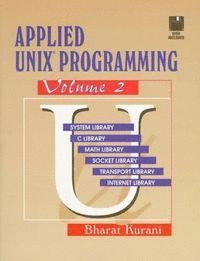 APPLIED UNIX PROGRAMMING VOL 2
