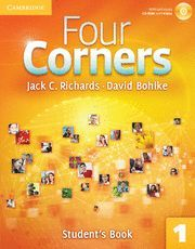 FOUR CORNERS LEVEL 1 STUDENT´S BOOK WITH SELF-STUDY CD-ROM