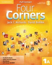 FOUR CORNERS LEVEL 1 FULL CONTACT A WITH SELF-STUDY CD-ROM