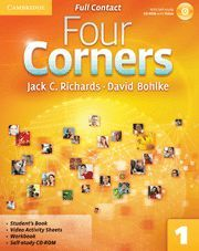 FOUR CORNERS LEVEL 1 FULL CONTACT WITH SELF-STUDY CD-ROM