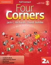 FOUR CORNERS LEVEL 2 FULL CONTACT A WITH SELF-STUDY CD-ROM