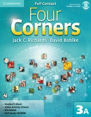 FOUR CORNERS LEVEL 3 FULL CONTACT A WITH SELF-STUDY CD-ROM