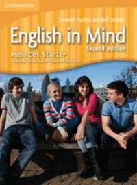 ENGLISH IN MIND STARTER LEVEL AUDIO CDS (3) 2ND EDITION