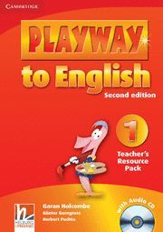 PLAYWAY TO ENGLISH LEVEL 1 TEACHER'S RESOURCE PACK WITH AUDIO CD 2ND EDITION