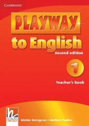 PLAYWAY TO ENGLISH LEVEL 1 TEACHER'S BOOK 2ND EDITION