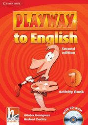 PLAYWAY TO ENGLISH LEVEL 1 ACTIVITY BOOK WITH CD-ROM 2ND EDITION