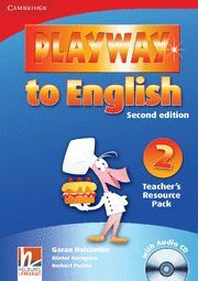 PLAYWAY TO ENGLISH LEVEL 2 TEACHER'S RESOURCE PACK WITH AUDIO CD 2ND EDITION
