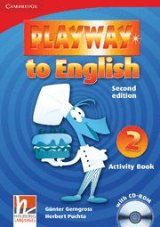 PLAYWAY TO ENGLISH LEVEL 2 ACTIVITY BOOK WITH CD-ROM 2ND EDITION