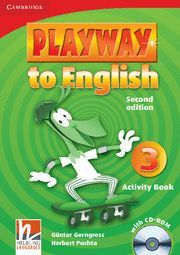 PLAYWAY TO ENGLISH LEVEL 3 ACTIVITY BOOK WITH CD-ROM 2ND EDITION