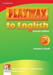PLAYWAY TO ENGLISH LEVEL 3 TEACHER'S BOOK 2ND EDITION