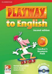 PLAYWAY TO ENGLISH LEVEL 3 TEACHER'S RESOURCE PACK WITH AUDIO CD 2ND EDITION