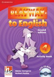 PLAYWAY TO ENGLISH LEVEL 4 ACTIVITY BOOK WITH CD-ROM 2ND EDITION