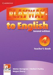 PLAYWAY TO ENGLISH LEVEL 4 TEACHER'S BOOK 2ND EDITION