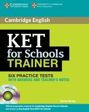 KET FOR SCHOOLS TRAINER KEY+CD