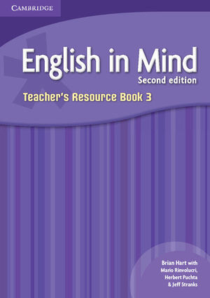 ENGLISH IN MIND LEVEL 3 TEACHER'S RESOURCE BOOK 2ND EDITION