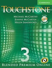 TOUCHSTONE BLENDED PREMIUM ONLINE LEVEL 3 STUDENT´S BOOK WITH AUDIO CD/CD-ROM, ONLINE COURSE AND ONL