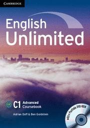 ENGLISH UNLIMITED ADVANCED COURSEBOOK WITH E-PORTFOLIO