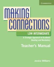 MAKING CONNECTIONS LOW INTERMEDIATE TEACHER´S MANUAL