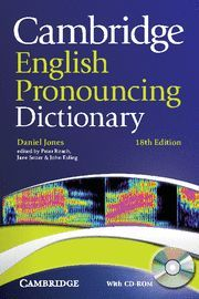 ENGLISH PRONOUNCING DICTIONARY 18ªED+CD ROM