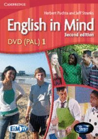 ENGLISH IN MIND LEVEL 1 DVD (PAL) 2ND EDITION