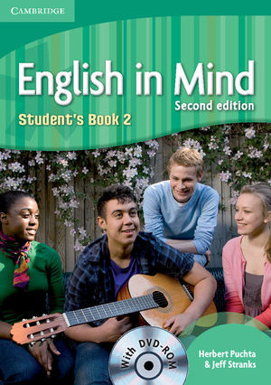 ENGLISH IN MIND LEVEL 2 STUDENT'S BOOK WITH DVD-ROM 2ND EDITION