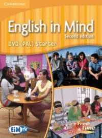 ENGLISH IN MIND STARTER LEVEL DVD (PAL) 2ND EDITION
