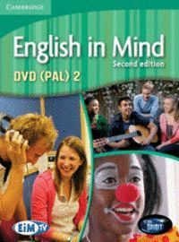 ENGLISH IN MIND LEVEL 2 DVD (PAL) 2ND EDITION