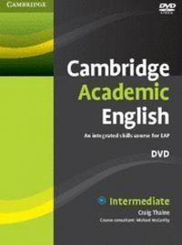 CAMBRIDGE ACADEMIC ENGLISH B1+ INTERMEDIATE DVD