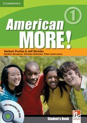 AMERICAN MORE! LEVEL 1 STUDENT´S BOOK WITH CD-ROM