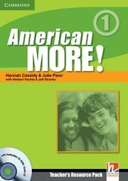 AMERICAN MORE! LEVEL 1 TEACHER´S RESOURCE PACK WITH TESTBUILDER CD-ROM/AUDIO CD