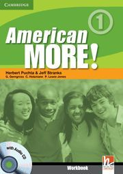 AMERICAN MORE! LEVEL 1 WORKBOOK WITH AUDIO CD
