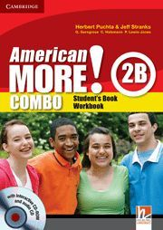 AMERICAN MORE! LEVEL 2 COMBO B WITH AUDIO CD/CD-ROM