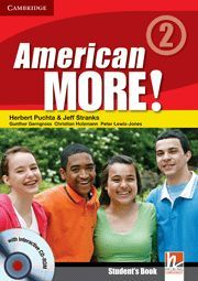 AMERICAN MORE! LEVEL 2 STUDENT´S BOOK WITH CD-ROM