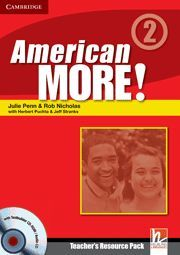 AMERICAN MORE! LEVEL 2 TEACHER´S RESOURCE PACK WITH TESTBUILDER CD-ROM/AUDIO CD